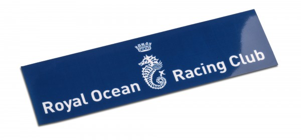 RORC Seahorse - Car Window Sticker
