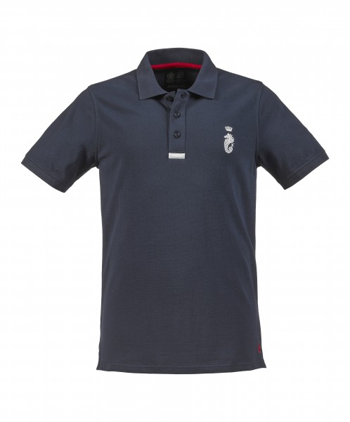 Musto Men Polo Navy - front