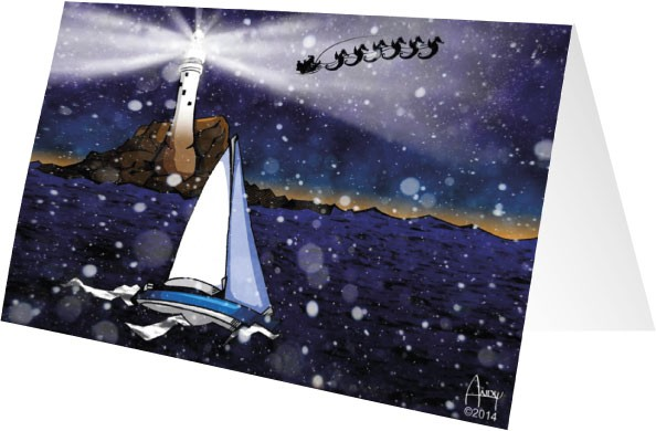 RORC Christmas Card by Andy Ornelas